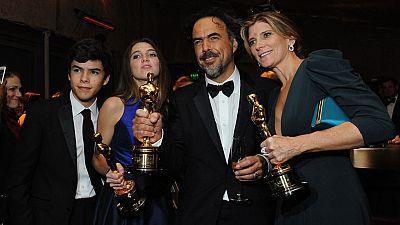 'Birdman' del mexicano González Iñárritu triunfó con 4 premios Oscar