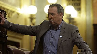 Baldoví se desmaya en el Congreso durante su intervención en el debate sobre el estado de la nación