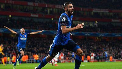 El Mónaco asalta el Emirates y se impone 1-3 al Arsenal
