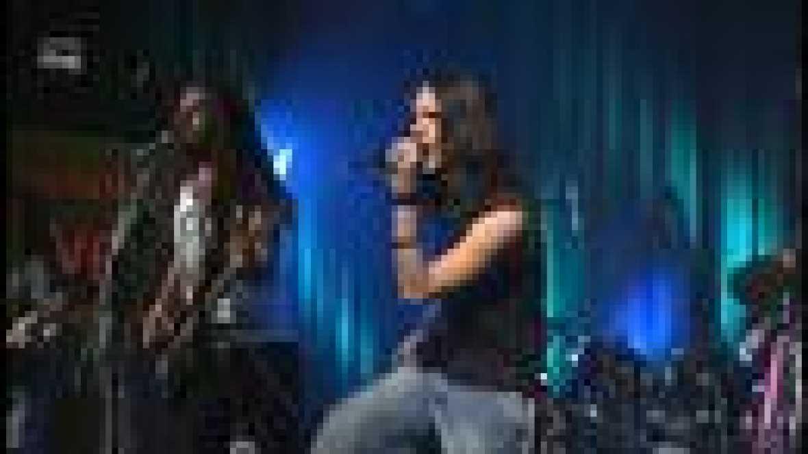 Grabación del concierto en directo de la banda Hollywood Twist en el Instituto RTVE