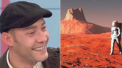 Ángel Jané, un español en Marte