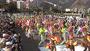 Coso carnaval Santa Cruz de Tenerife 2015