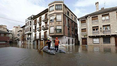 Continúan las inundaciones en varios puntos de la península debido al temporal