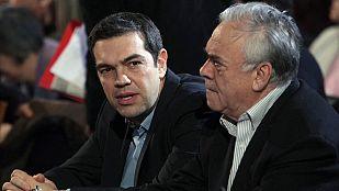 Alexis Tsipras ha acusado a España y Portugal de formar un eje político contra su gobierno