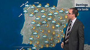 Precipitaciones en Galicia, Cantábrico oriental y Pirineos