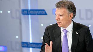 """Juan Manuel Santos: """"Estamos llegando al momento de discutir el cese el fuego"""""""