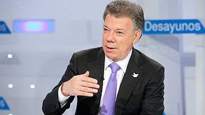 Los Desayunos de TVE - Juan Manuel Santos, presidente de Colombia - Ver ahora