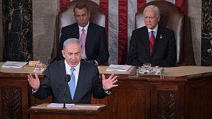 """Netanyahu, ante el Congreso de EE.UU.: """"Un pacto con Irán no evitará que consiga la bomba nuclear"""""""
