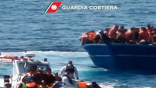 Mueren 10 personas y casi un millar son rescatadas en el Canal de Sicilia