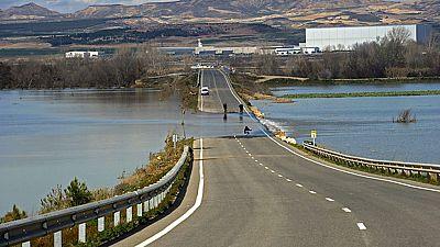 Comienzan a evaluarse los daños de la crecida del Ebro
