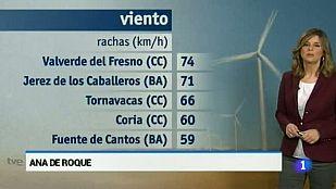 El tiempo en Extremadura - 05/03/15