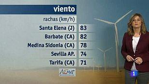 El tiempo en Andalucía - 05/03/2015