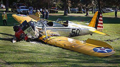 El actor Harrison Ford, hospitalizado tras un accidente en avioneta