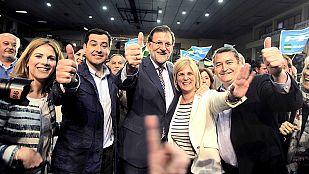 """Rajoy cree que el único cambio posible es el PP: """"Moreno no quiere irse, como otra"""""""