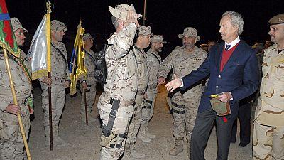 Pedro Morenés visita a las tropas españolas desplegadas en Turquía e Irak