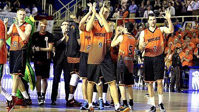El Montakit Fuenlabrada sufre en un partido igualadísimo, gana al Baloncesto Sevilla en un final de thriller (82-81) y sueña con una clasificación en la que sale de los puestos de descenso. Jeleel Akindele, vital en el triunfo, con 24 puntos, 8 rebot