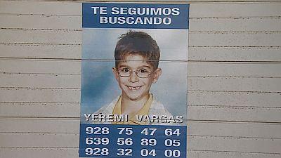 Mañana se cumplen ocho años de la desaparición de Yeremi Vargas