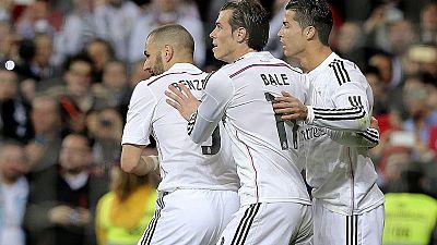 El tridente formado por Benzema, Bale y Cristiano es el centro de todas las miradas. De su recuperación depende el futuro deportivo del Real Madrid.