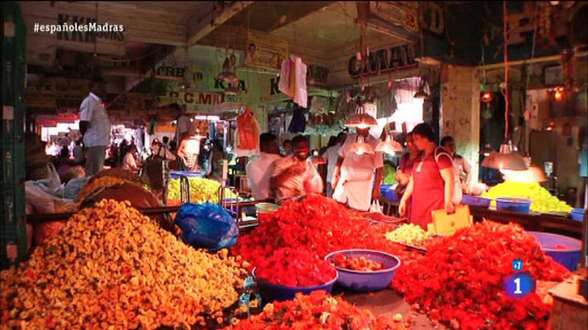 Españoles en el mundo - Madras - Mercado de las flores