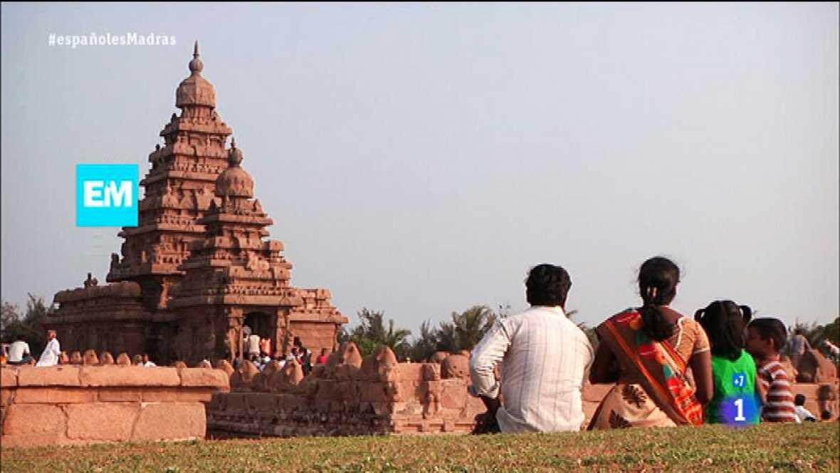 Españoles en el mundo - Madras - Shore Temple