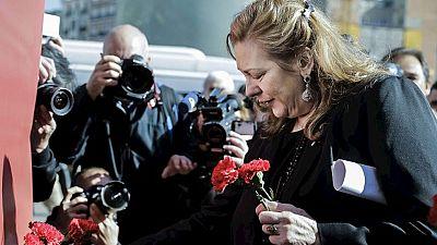 Homenaje a las víctimas, que piden 'valentía y compromiso' en el onceavo aniversario del 11-M