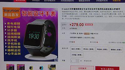 Las imitaciones del nuevo reloj inteligente de Apple ya se pueden adquirir por Internet