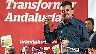 """IU ve """"muy complicado"""" reeditar el gobierno con el PSOE en una jornada marcada por los pactos"""