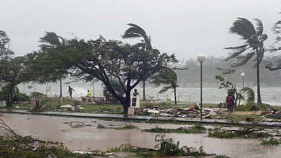 """""""Pam"""" un ciclón de categoría cinco ha arrasado el archipiélago de Vanuatu"""