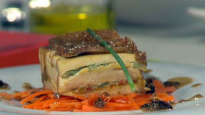 Cocina con Sergio - Milhoja de pollo y esp�rragos - Ver ahora