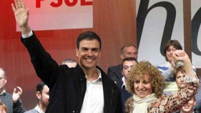 El líder del PSOE ha estado en Cantabria para arropar a su candidata autonómica