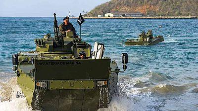 Venezuela responde con ejercicios militares a Estados Unidos