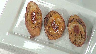 Escuela de pasteler�a: Torrijas mini caramelizadas