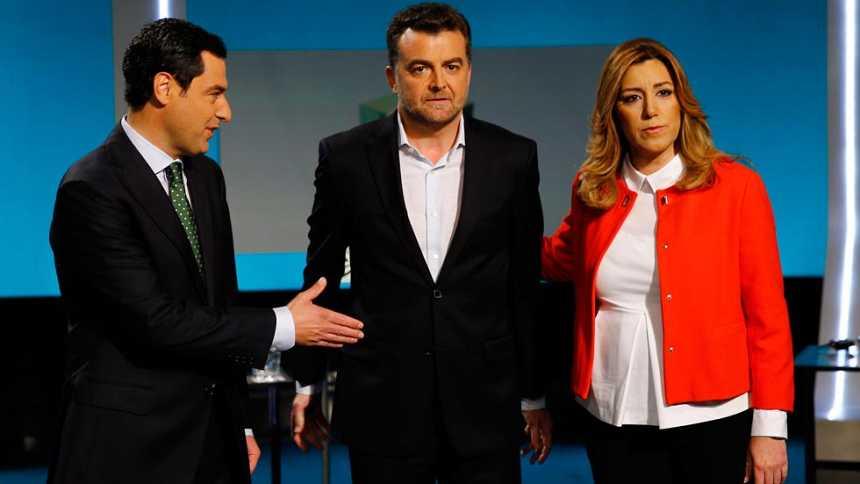 La corrupción centra el debate y los reproches entre los candidatos andaluces