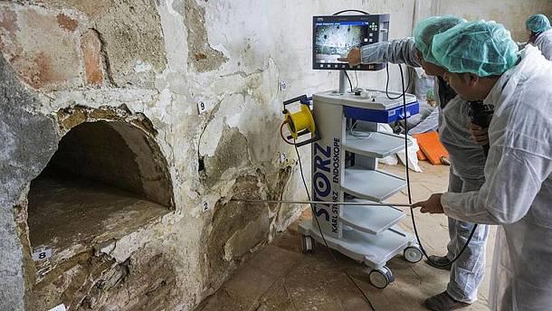Encuentran los restos de Miguel de Cervantes en el convento de las Trinitarias en Madrid