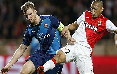 El Arsenal de Wenger ha caído por quinta vez consecutiva en octavos de final de la Champions al no poder culminar la remontada en Mónaco, donde se impuso 0-2 y le faltó un tanto para levantar el 1-3 de Londres.