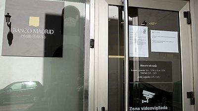 Los expertos creen que el Banco Madrid no será rescatado con dinero público