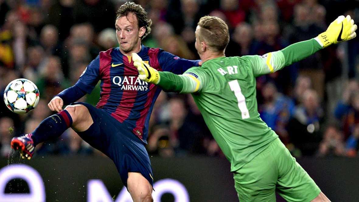 Messi juega con el city y el bar a pasa a cuartos for En que canal juega el barcelona