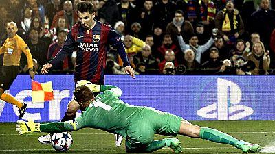 El FC Barcelona estará este viernes en el sorteo de cuartos de final de la Champions League, junto al Madrid y el Atlético. Su partido de vuelta frente al Manchester City fue un trámite, que pudo acabar en goleada de no ser por el portero del conjunt
