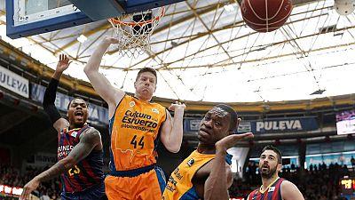 Valencia Basket 93 - FC Barcelona 73