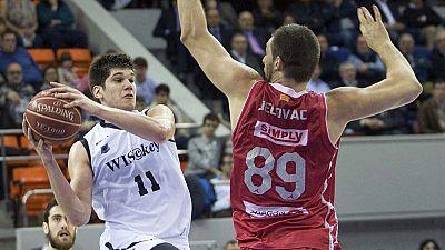 El CAI Zaragoza se impuso (76-64) al conjunto revelación de la temporada, el Bilbao Basket, con una gran defensa en el último cuarto en el que superó ampliamente a un rival acostumbrado a anotar bastantes más puntos de media que los 64 que totalizó e