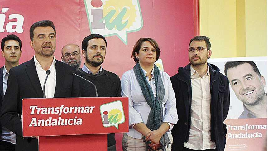 """Maíllo: """"En IU estamos insatisfechos con los resultados en Andalucía"""""""
