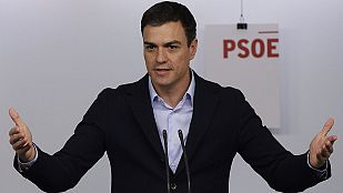 """Sánchez reivindica la victoria de Susana Díaz como una victoria del """"socialismo español"""""""