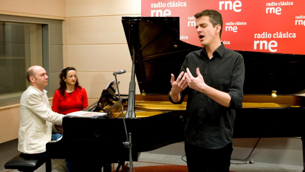 Estudio 206 - Philippe Jaroussky (contratenor) y Jerôme Ducros (piano) - Ver ahora