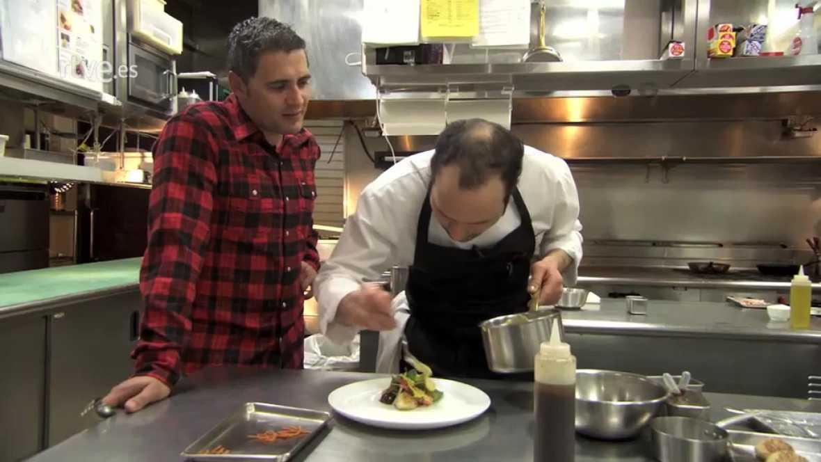 Españoles en el mundo - Cocina fusión Japonesa Española