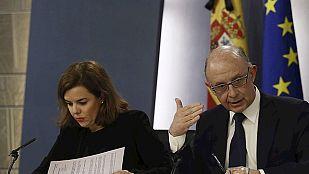 El déficit público cierra 2014 en el 5,7% y España cumple el objetivo fijado por Bruselas