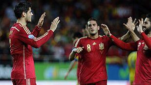 España sufre para ganar a Ucrania