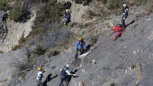 Identificadas 70 víctimas del accidente aéreo de Germanwings