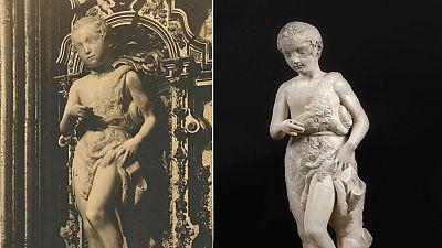 El 'San Juanito', único Miguel Ángel en España, muerto y resucitado en el Prado