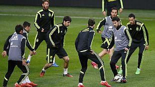 España hará pruebas contra Holanda