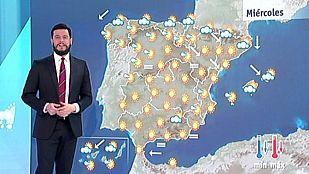 Temperaturas más frescas en el norte